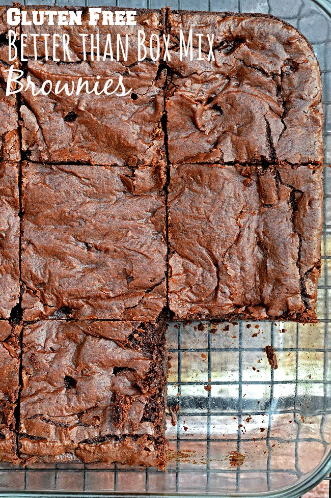 Ghirardelli Fudgy Gluten-Free Brownies Recipe — Dishmaps