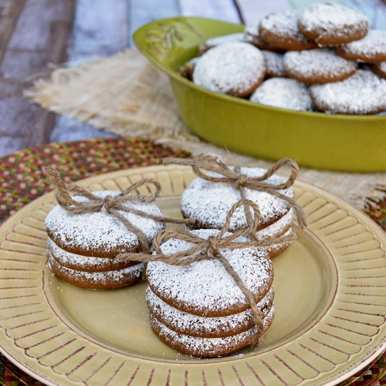 Ginger Molasses Gluten Free Cookies